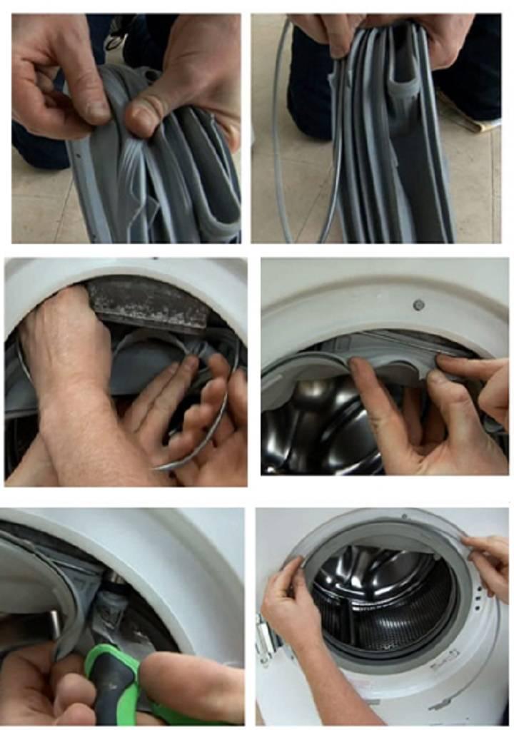 Замена манжеты на стиральной машине индезит