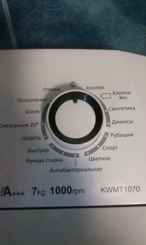 Обозначения на стиральной машине ардо