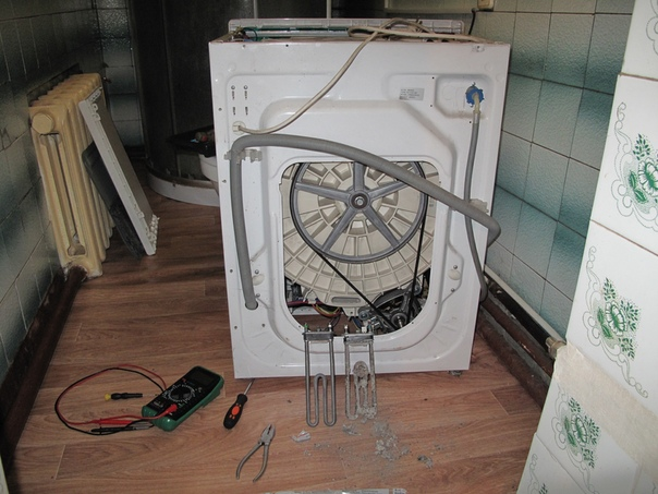 Стиральная машина zanussi не греет воду при стирке