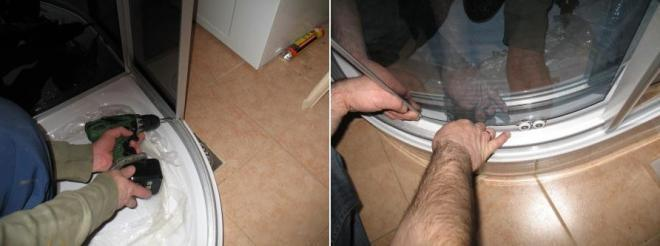 Ремонт душевых кабин своими руками