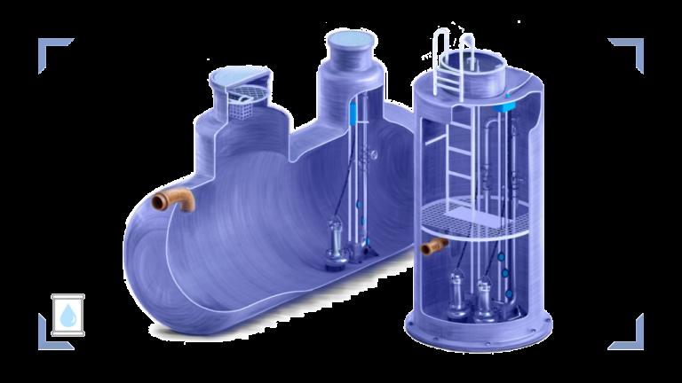 Разновидности отстойников для канализации и их особенности