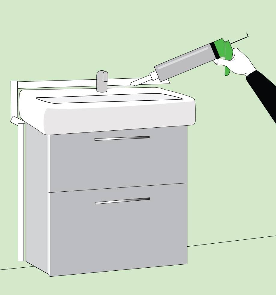 Тумба под раковину в ванную своими руками - варианты + инструкция!