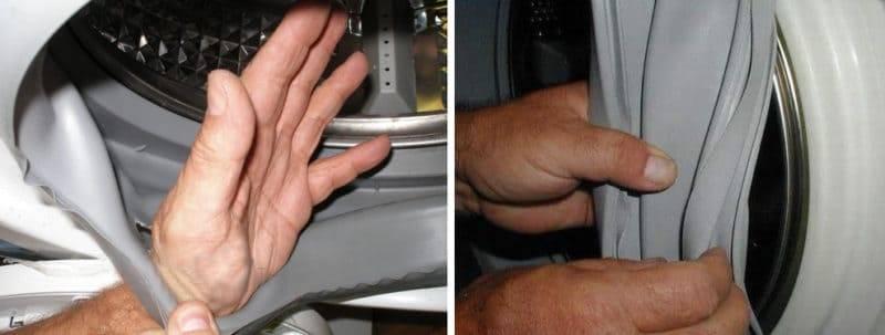 Замена ремня на стиральной машине