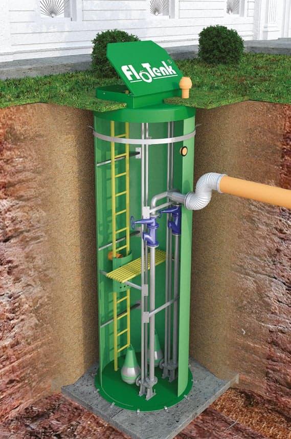 Отстойник для канализации: изготовление своими руками