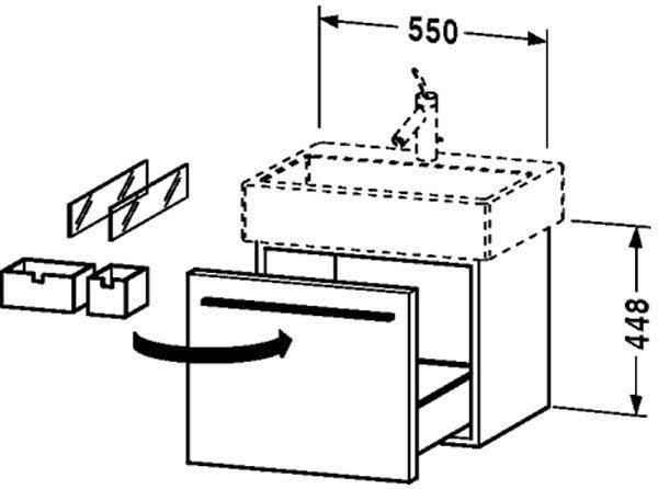 Подвесная тумба с раковиной: навесная модель с умывальником для ванной комнаты высотой 50 и 60 см, 70 и 80 см, тонкости выбора и установки