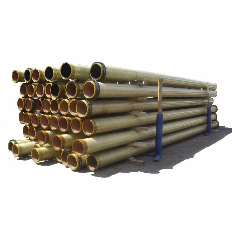 Производство и правила монтажа стеклопластиковых труб