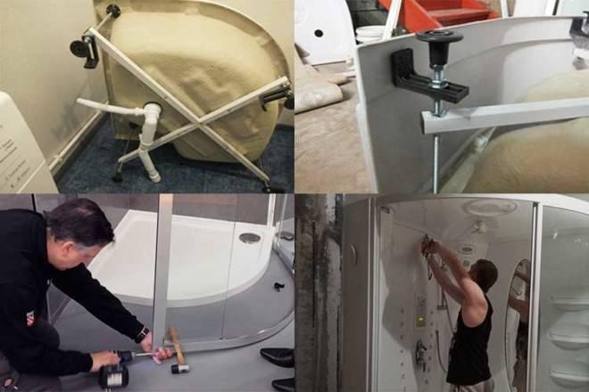 Ремонт душевых кабин своими руками: обслуживание, установка, переключатель режима, как починить кран, смеситель, маленький санузел
