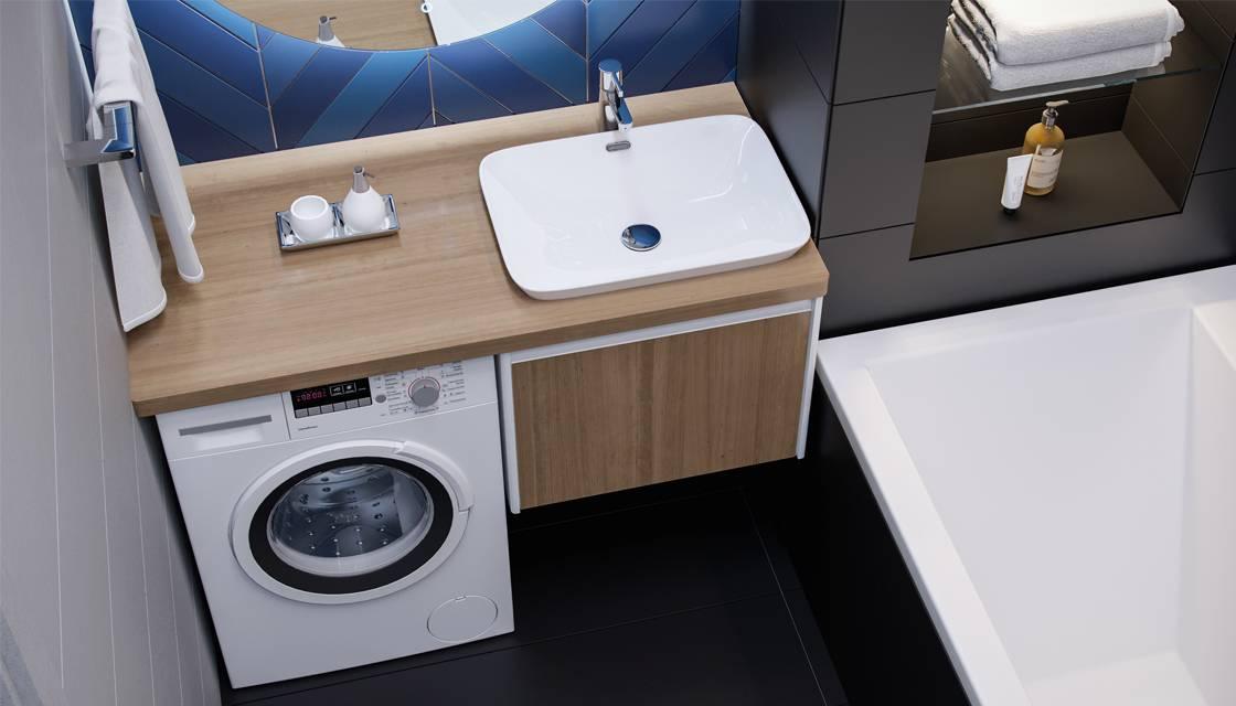 Раковина на стиральную машину в ванную или на кухню: размеры, отзывы