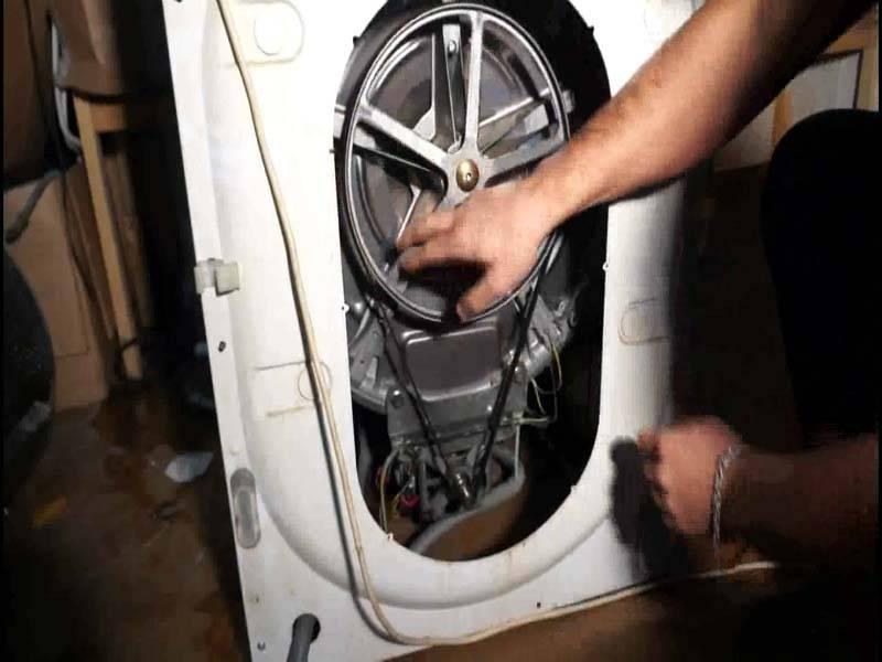Ремень для стиральной машины indesit: почему слетает и как правильно надеть? как самому поменять на машинке и натянуть?