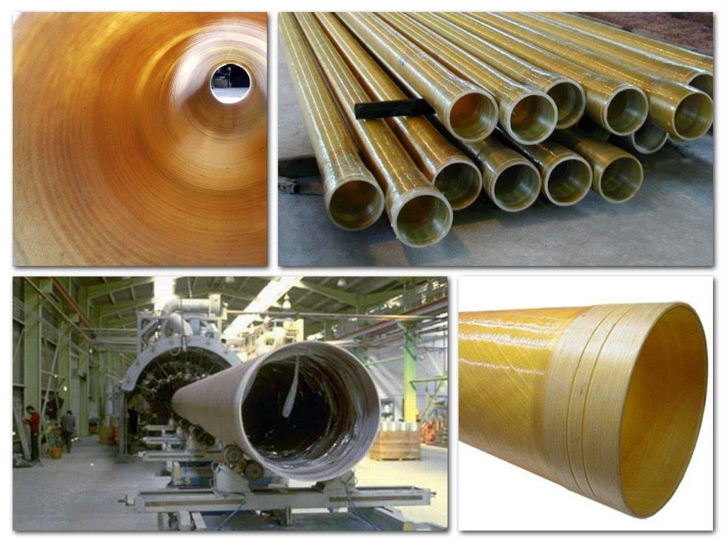 Стеклопластиковые трубы – виды, применение, технология изготовления