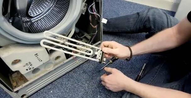 Стиральная машина не греет воду при стирке: что делать, причины