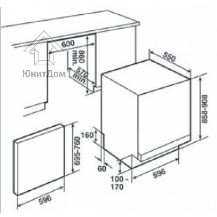 Установка посудомоечной машины bosch: монтаж и подключение по правилам - точка j