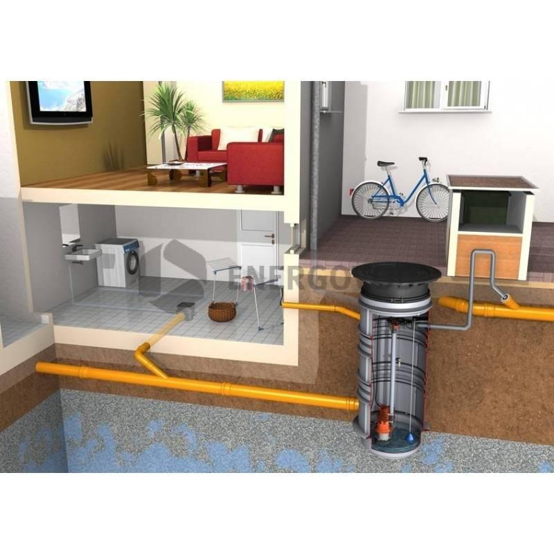 Насосная канализационная станция: освещаем по полочкам