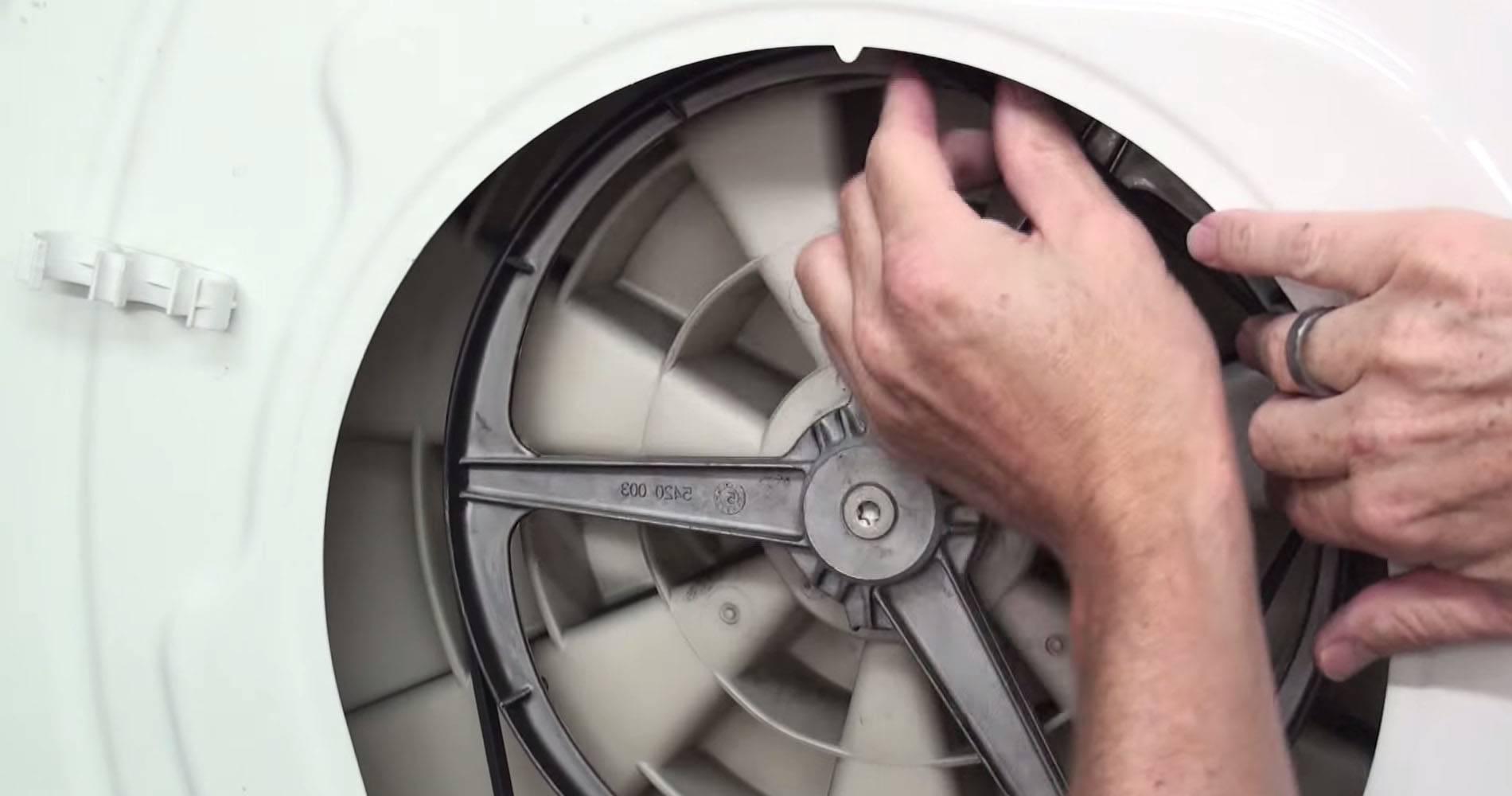 Как одеть (натянуть) ремень на стиральную машину — видеоинструкция