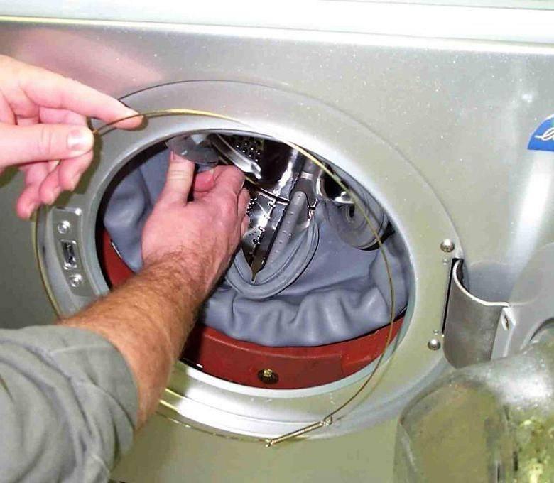 Манжета для стиральной машины: как снять и надеть резинку на барабан? ремонт уплотнительной манжеты люка