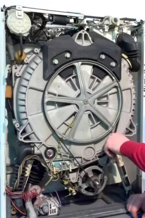Что делать, если слетает ремень с барабана стиральной машины - kakdoma154.ru