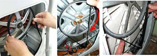 Ремень для стиральной машины samsung: как заменить в стиральной машине? как натянуть приводной ремень и почему он слетает? причины и виды неисправностей