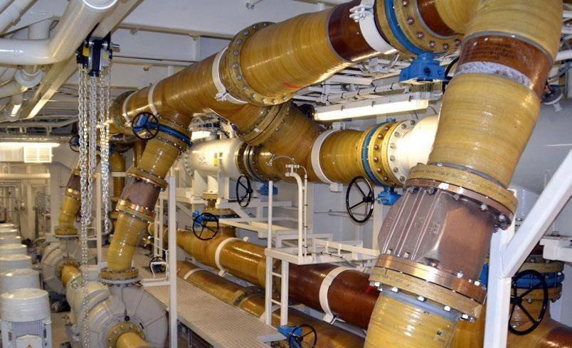 Стеклопластиковые трубы: производство и технические характеристики
