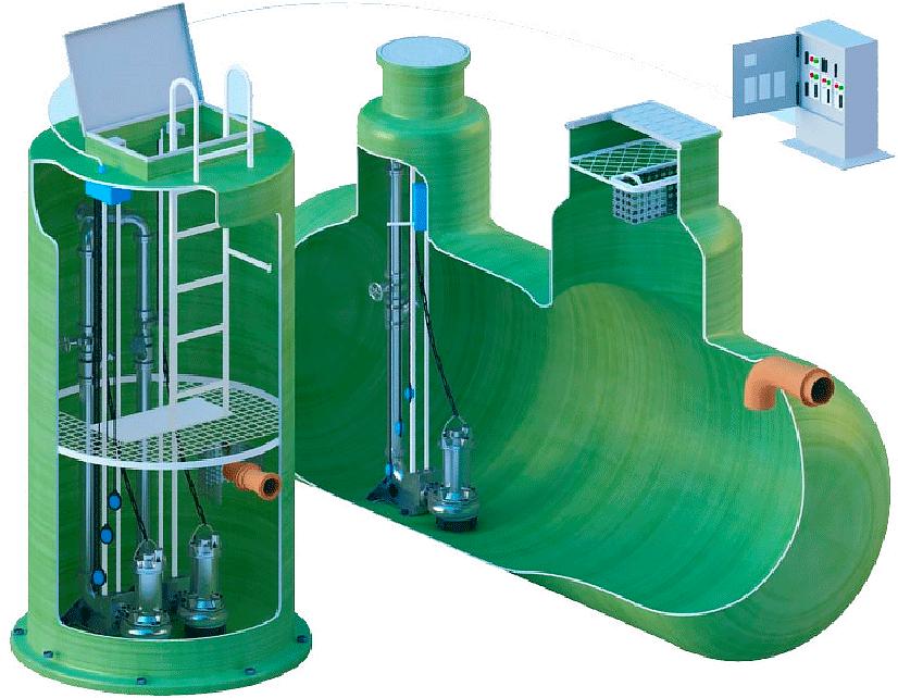 Сфера применения отстойников для очистки сточных вод