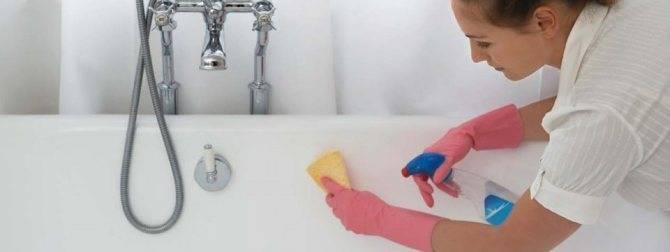 Чем можно отмыть ванну до бела в домашних условиях