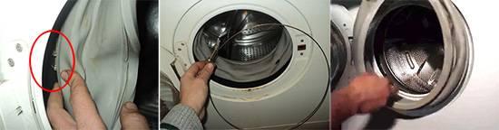 Замена манжеты в стиральной машине zanussi