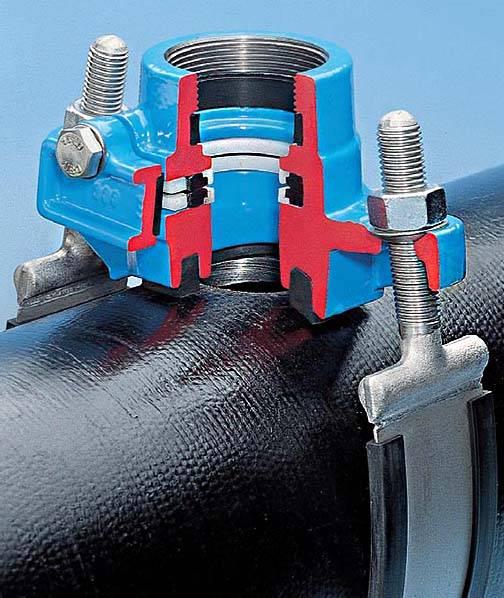 Особенности врезки в трубу водопровода